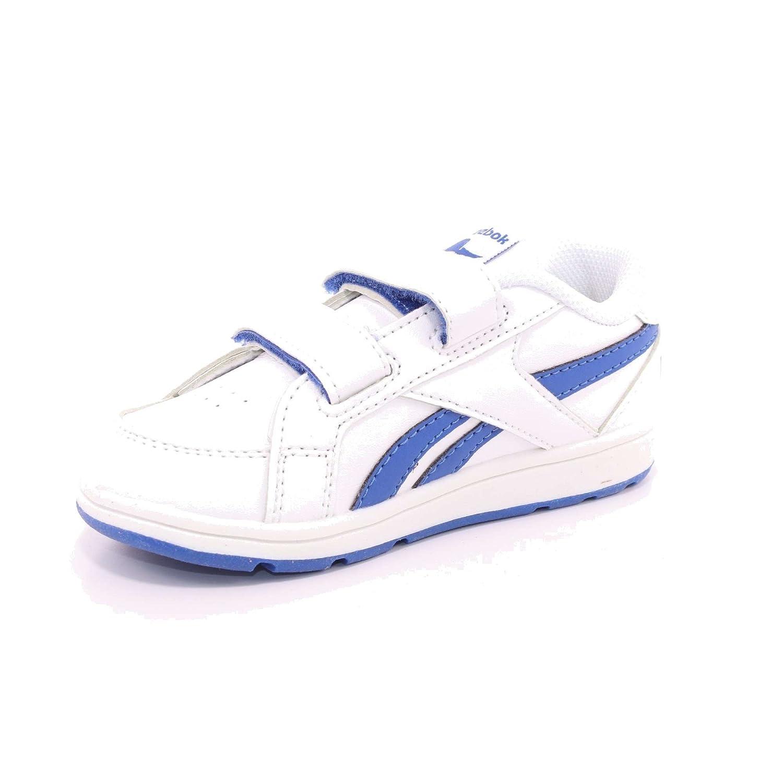 Reebok Bs7918, Chaussures Bébé Unisexe, Blanc (blanc / Bleu Vital), 22 Eu