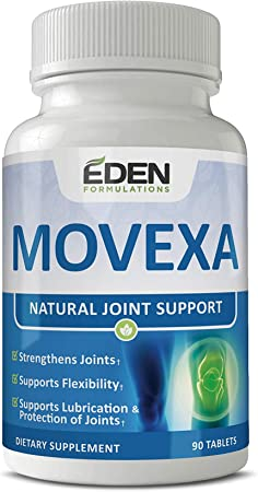 Eden Formulations Movexa Natural Joint Support - One-a-Day Dietary Supplements for Strong and Healthy Joints - Help Relieve Stiffness and Pain