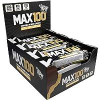 NPN MAX 100 barra de proteínas y carbohidratos | Barrita proteica para deporte, sabor premium | 9x100g Crujiente de…