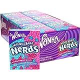 Wonka Nerds Totally Tropical Punch and Road Rash Raspberry 46.7g