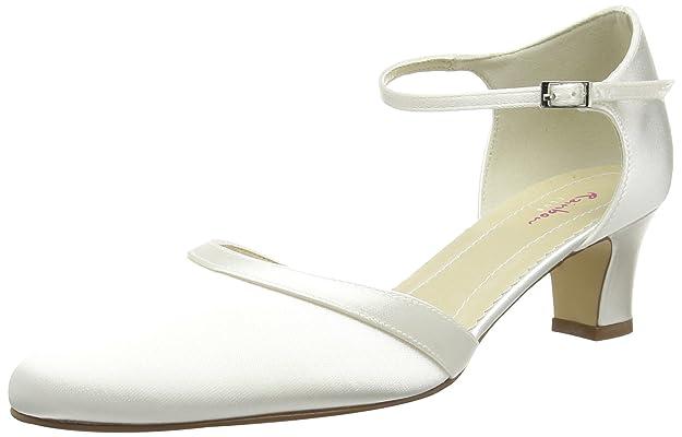Vestir Elsa De Satén Zapatos Mujer Shoes Para Coloured 301022 ZqqwxTUF