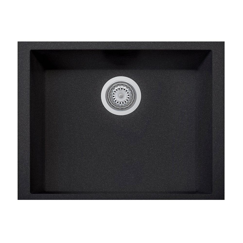 LaToscana ON6010ST-44 Plados Sink, Black Metallic
