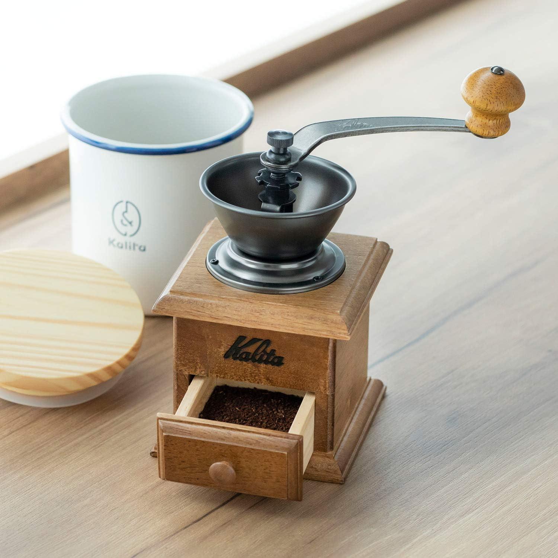 Moulin /à caf/é manuel en bois du Japon par Kalita Mouture r/églable