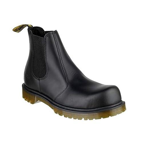 eca882f72 Dr. Martens DM Docs Icon 2228PW Black Chelsea Dealer Steel Toe Work Safety  Boots (