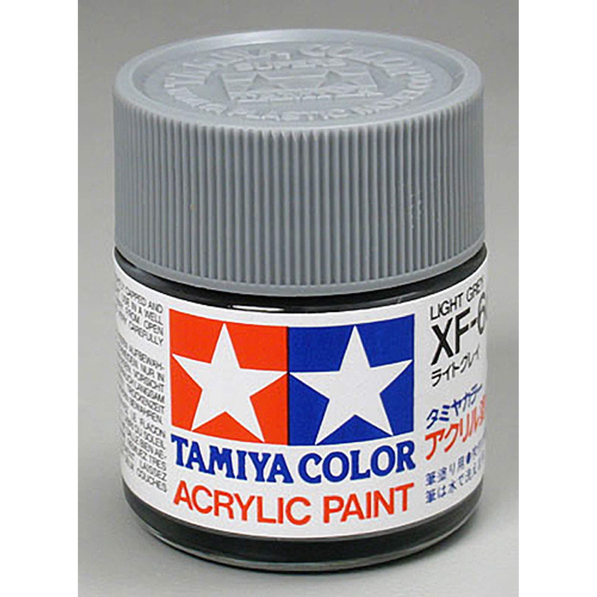 Tamiya America, Inc Acrylic XF66, Flat Light Grey, TAM81366