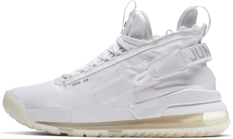 Amazon Com Nike Jordan Proto Max 720 Mens Bq6623 100 White Platinum Black 8 Basketball