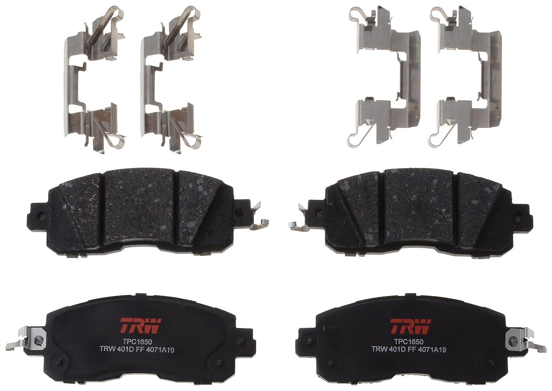 TRW TPC1650 Premium Ceramic Front Disc Brake Pad Set