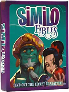 Similo Fables: A Fast Playing Family Card Game - Guess the Secret Fairy Tale Character, 1 Player is the Clue Giver & Others Must Guess the Character from a Classic Fable, 2-8 Players, Ages 8+, 20 min