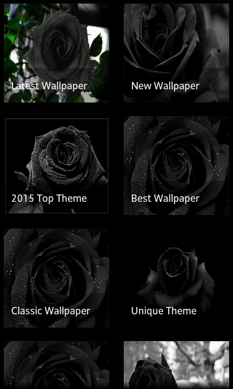 Amazoncom Black Rose 3d Live Wallpaper Appstore For Android