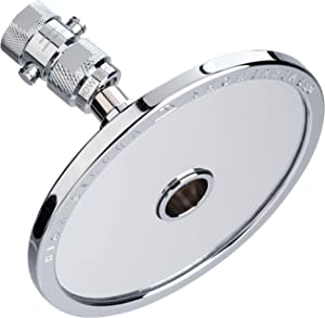 HIGH SIERRA SHOWERHEADS Fogless Shaving Mirror and Shower Head in One - Made of Solid Aluminum That Naturally Heats Up Mirror While Showering - Guaranteed to Never Fog! 1.8 GPM - Chrome