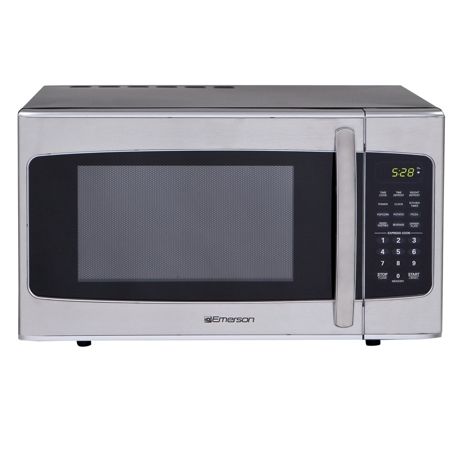 Emerson MWG1337SB, 1.3 CU. FT. 1000 Watt, Touch Control, Stainless Steel Microwave Oven Emerson Radio