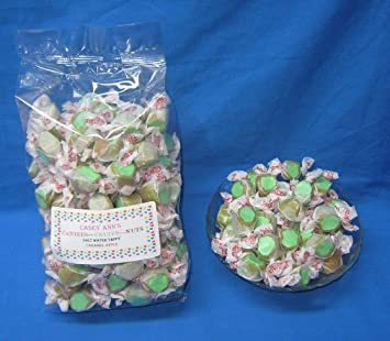 Caramel Apple Flavored Taffy Town Salt Water Taffy 2 Pounds