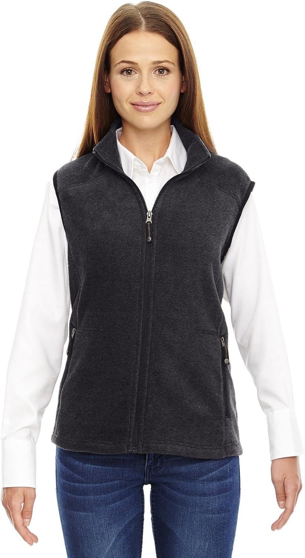 North End Ladies Voyage Fleece Vest