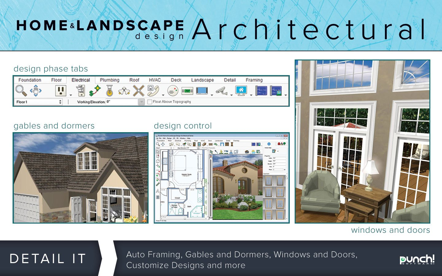 Punch! Home & Landscape Design Architectural Series V18