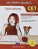 Opérations CE1