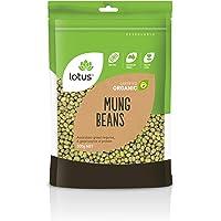 Lotus Organic Mung Beans 500 g, 500 g