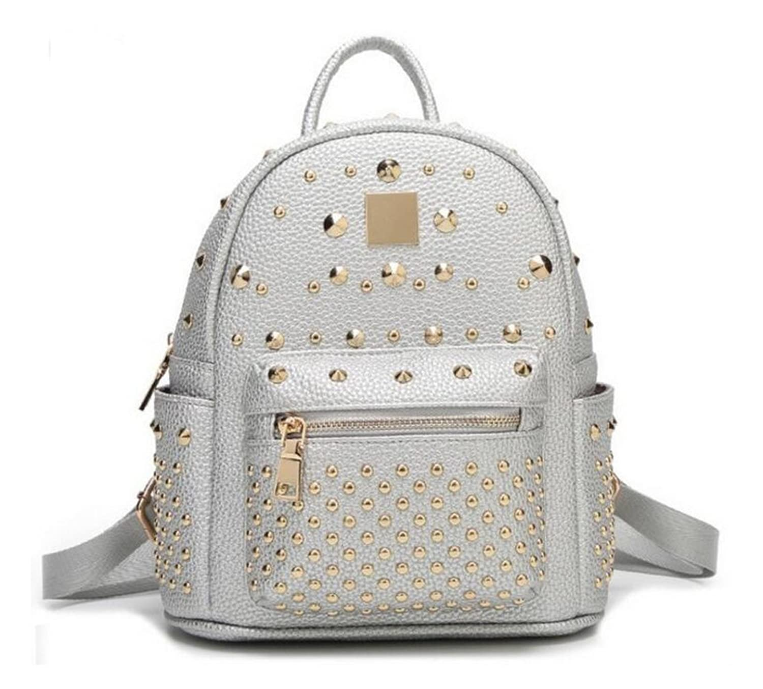 Longzibog Leather 2016 New Backpack Bag, Fashion Cute Lightweight Backpacks for Teen Young Girls Multicolor