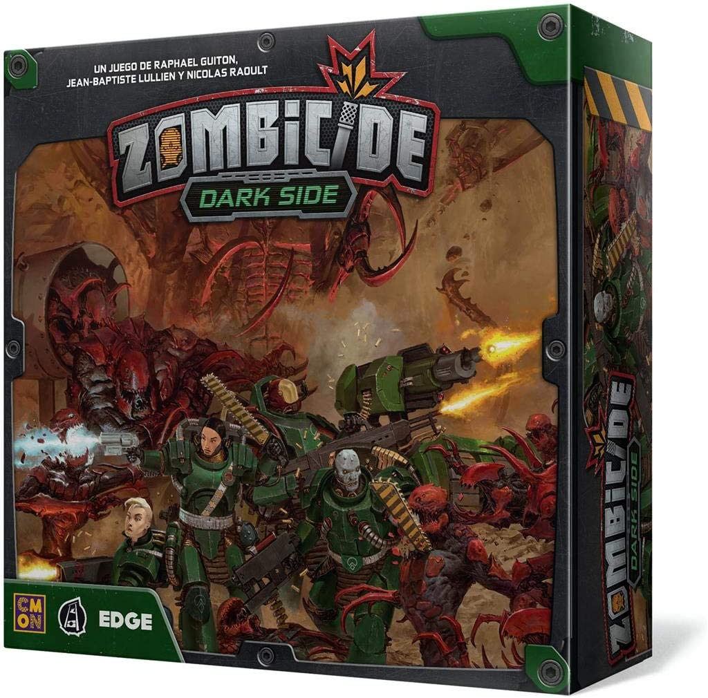 Edge Entertainment- Zombicide Invader - Dark Side - Español, Color (EECMZI03): Amazon.es: Juguetes y juegos
