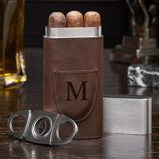 Humidor Case Personalized Cigar Case Vintage Cigar Lighter Cigar Case Lighter Lighters Cigar Lighter Holder Silver Cigar Cutter