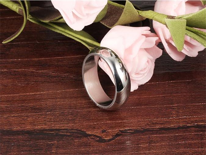 88616bc85003 FJYOURIA - Anillo de boda para hombre de 7 mm