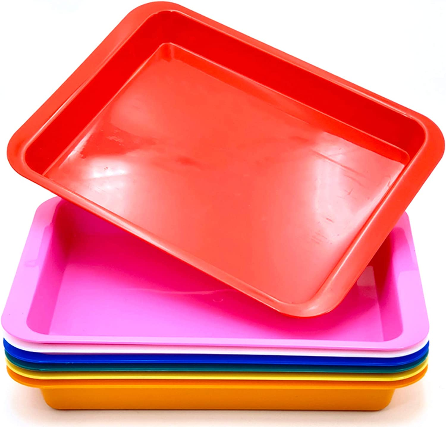 Painting Fun Home Activities Diy Projects Multiuse Art And Crafts Organizer Tray Serving Tray For Slime