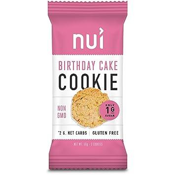Amazon Nui Cookies Keto Snacks Low Carb Sugar Gluten