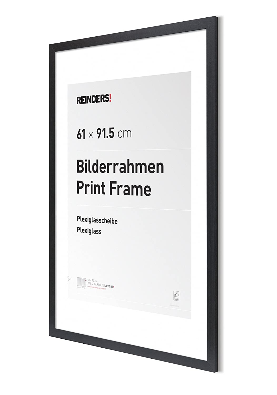 Amazon.de: REINDERS Bilderrahmen für Maxi-Poster 61 x 91, 5 cm ...