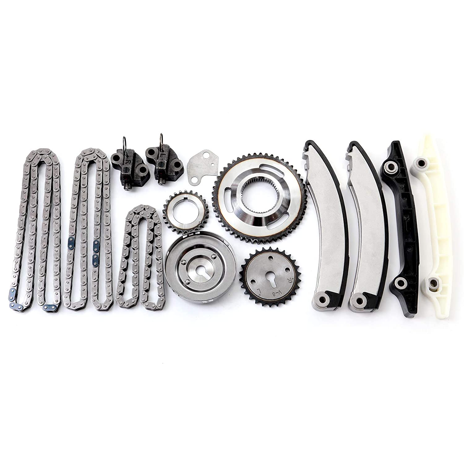 OCPTY TK1105 Timing Chain Kits Fits with Tensioner 2002 2003 Dodge Ram 1500 2002 2003 Jeep Liberty