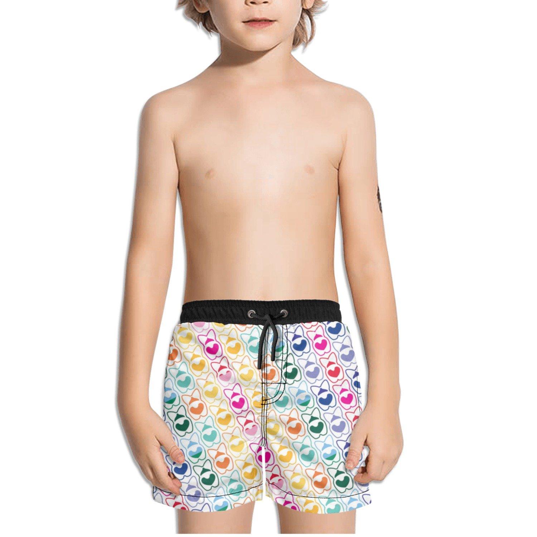 Trum Namii Boys Quick Dry Swim Trunks Corgi Got Butts Hearts Dog Shorts