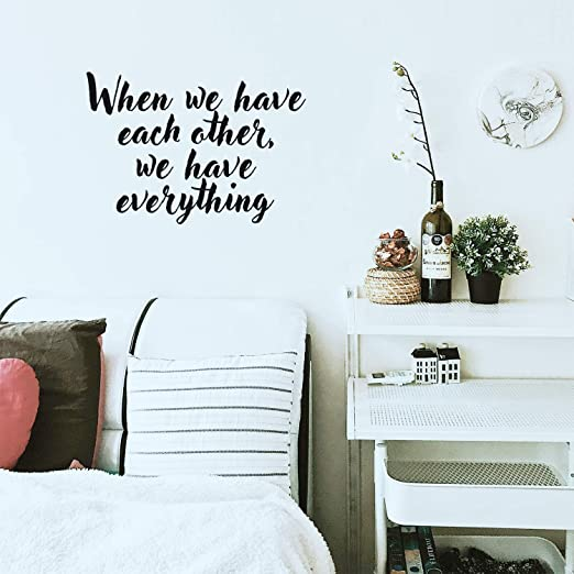 Let today be the day that we love each other the least Vinyl Sticker Wall Quotes Lo025LettodayviET Vinyl Wall Decal