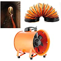 DiLiBee - Ventilador industrial Ventilador Extractor Portátil Axial