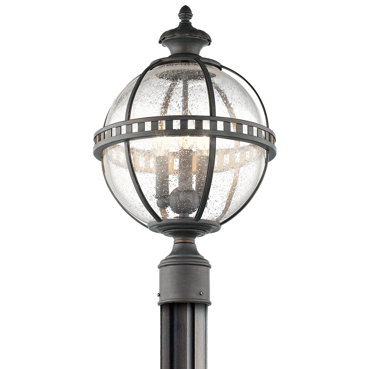 Kichler 49604LD Three Light Outdoor Post Mount by Kichler