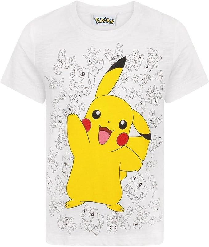 Pokemon Pika Pokeball Boys T-Shirt