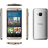 HTC One M9-32GB, 4G LTE, Gold on Silver