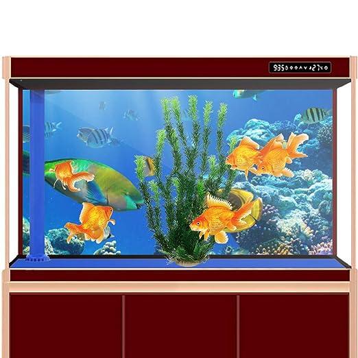 47 cm plástico verde amarillo decoración adorno agua planta acuática para Acuario Tanque de peces: Amazon.es: Productos para mascotas