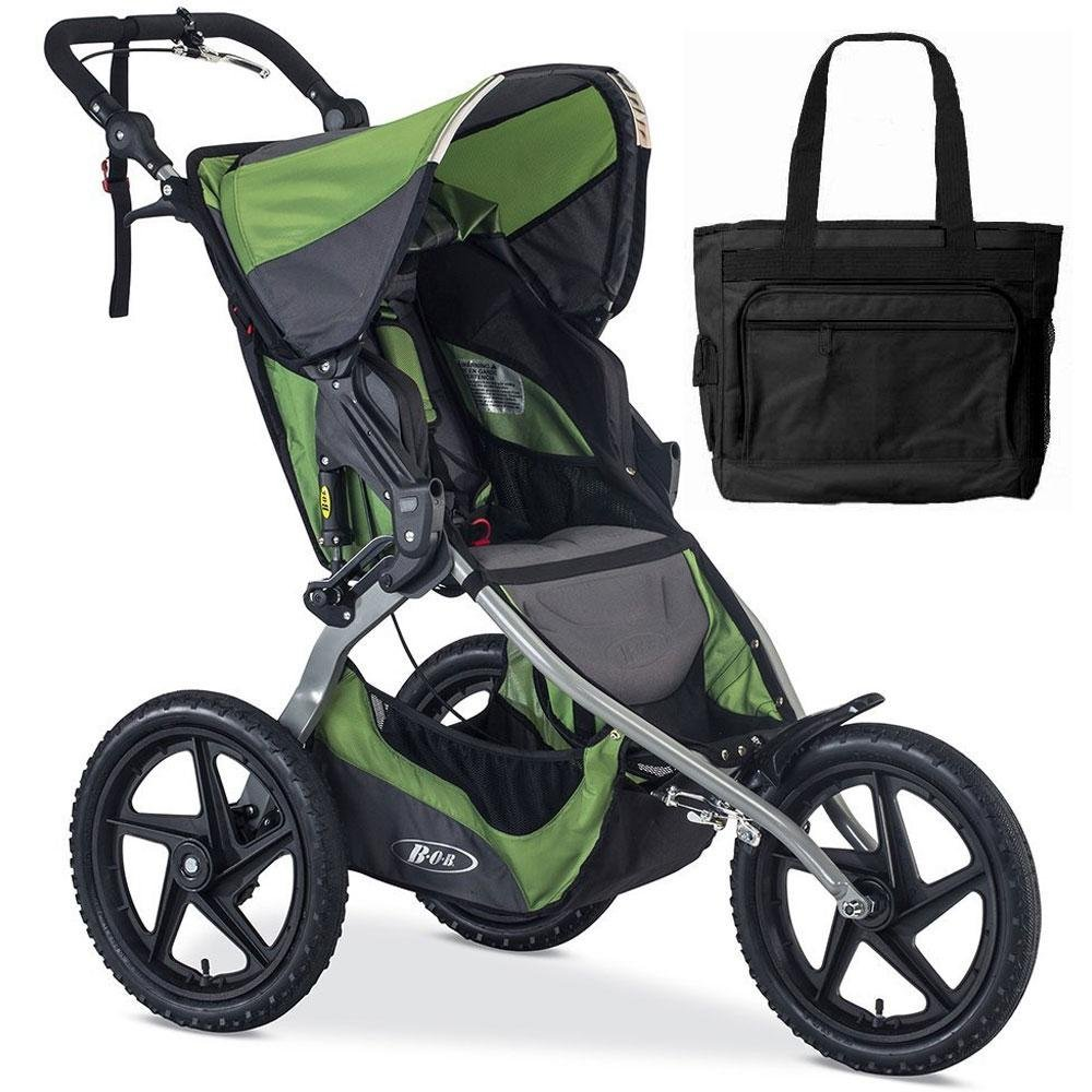 BOB 2016 Sport Utility Stroller - Meadow with FREE Diaper Bag