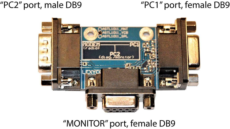 Amazon com: Bidirectional RS232 Serial Data Sniffer (2-Way