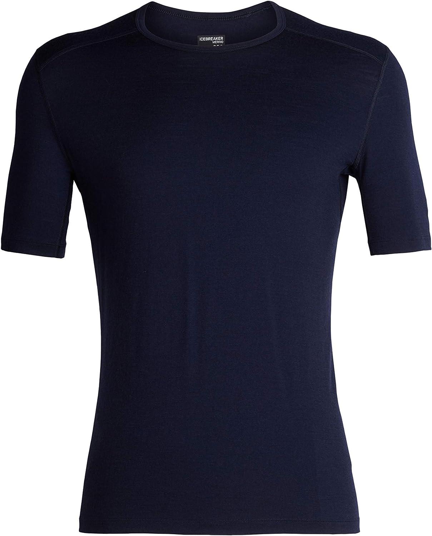 Icebreaker Merino Mens 200 Oasis Merino Wool Base Layer Short Sleeve T-Shirt