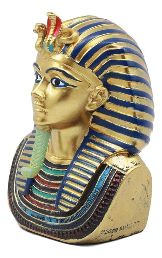 Máscara de Rey Tut Faraón Busto pequeño - Figura decorativa (4,25