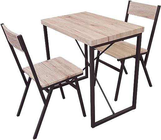 Ensemble Table Restaurant Bar APPOINT + 2 CHAISES Industriel
