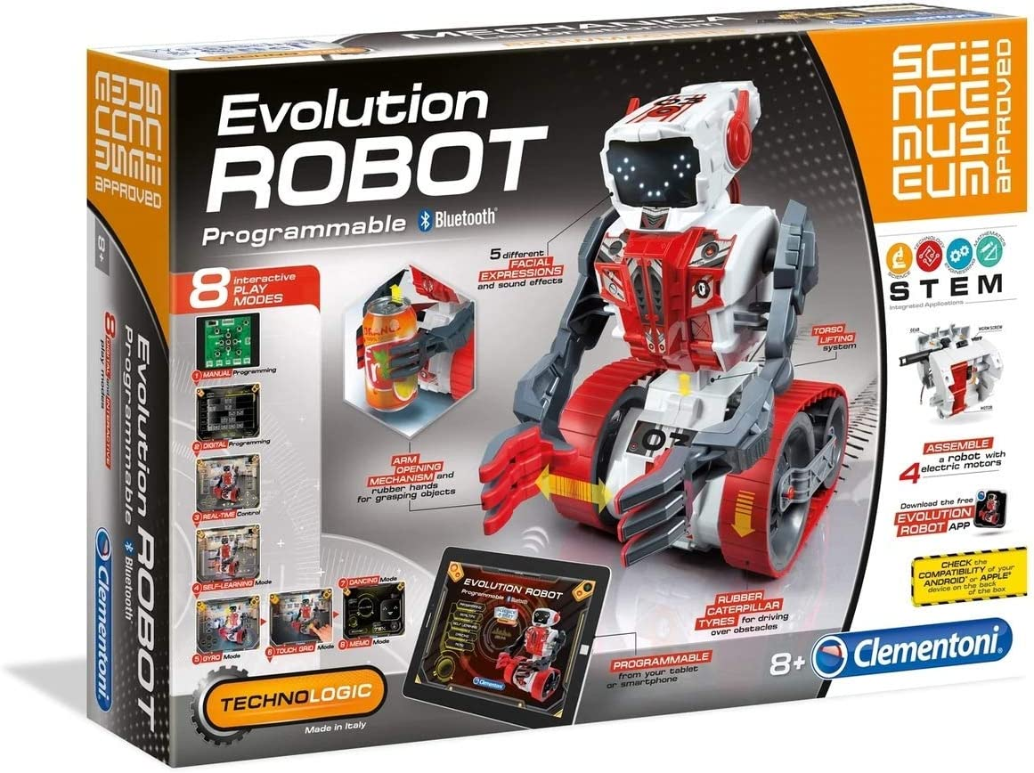 Clementoni 61282 Science Museum Evolution Robot