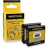 2x Battery Fuji NP-50 | Kodak Klic-7004 | Pentax D-Li68 / D-Li122 for Fujifilm FinePix F70EXR | F80EXR | F200EXR | F300EXR | F500EXR | F550EXR | F600EXR | Kodak EasyShare M1033 | M1093 | V1233...
