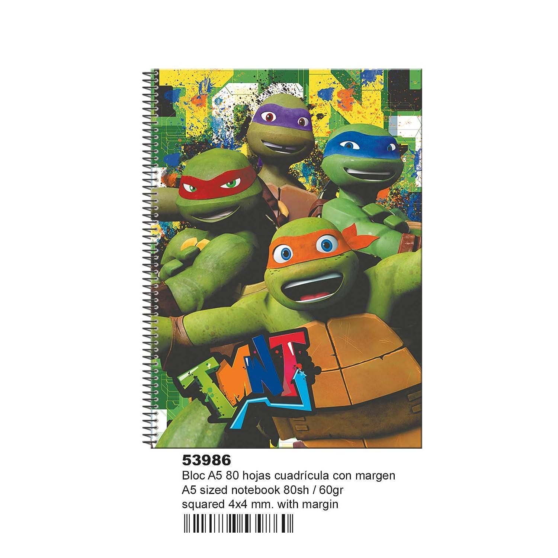 Tortugas Ninja- Libretas Y Cuadernos, (Montichelvo 53986 ...