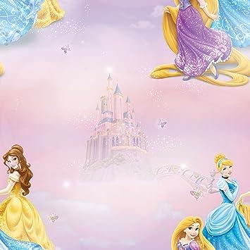 Disney Pretty As A Princess Pink Wallpaper