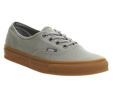 Image Unavailable. Image not available for. Color  Vans Authentic Sneaker  Frost Grey Gum ... 1e3690d3f