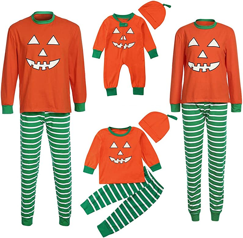 MAYOGO Disfraz Halloween Padre Hijo Conjuntos Camiseta Manga Larga ...