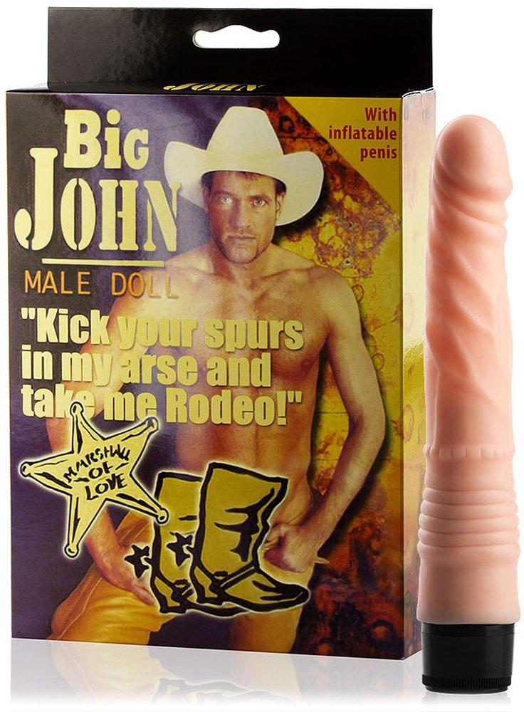 Love 69toys - excepcional Muñeco hinchable - Muñeca Big John ...