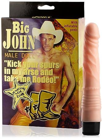 Love 69toys - excepcional Muñeco hinchable - Muñeca Big John con ...