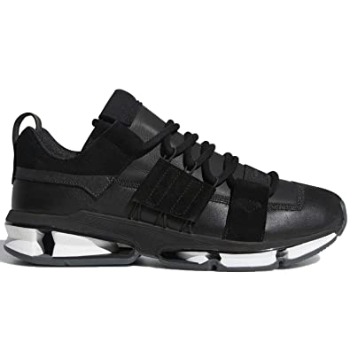 wholesale dealer 75dc8 79162 adidas Mens Twinstrike ADV Stretch Leather Core BlackFTWR White B28015  (Size 5