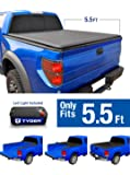 Tyger Auto TG-BC1F9029 TOPRO Roll Up Truck Bed Tonneau Cover 2015-2018 Ford F-150 | Styleside 5.5' Bed
